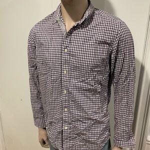 Banana Republic plaid checkered button down shirt